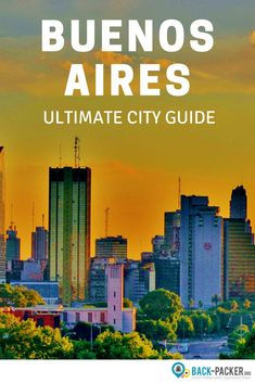 This travel guide features cool things to do in Buenos Aires, Argentina. Great restaurants, stylish hostels and recommendations for bars and nightlife based on my own experience of living in the city for more than 4 weeks. Travel in South America. | Back-packer.org #BuenosAires #Argentina