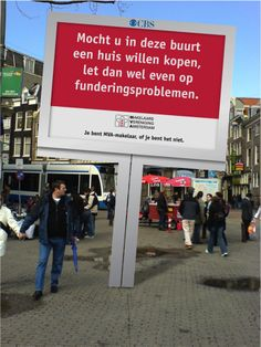 outdoor - campagne Makelaarsvereniging Amsterdam