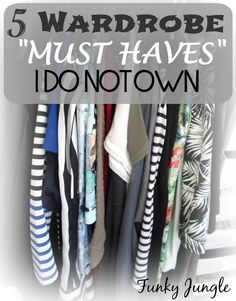 "There's no such thing as an universal ""must have"" when it comes to personal style - 5 Fashion Must Haves I Do Not Own - The Closet Conundrum VIII 