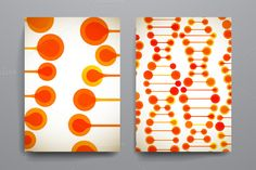 Beautiful brochures in DNA style. by Palau on Creative Market
