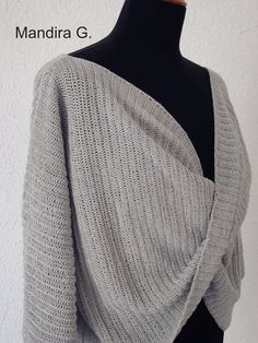Cozy crochet sweater-οδηγίες και στα ελληνικά – mandira . g