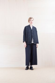 Blouson_ NA15-B193 STCBL 46,000yen+tax br; Shirts_ NA15-S11 JSOSH 18,500yen+ta br; Pants_ NA15-P135 SKPT 23,500yen+tax br; Sox_ FA15042 LANA02 3,300yen+tax br; Shoes_ FA15062 ORDINARIA NOBLE 59,000yen+tax