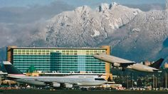 If planespotting is your thing, then Vancouver's Fairmont is arguably the best hotel in the world. Floor-to-ceiling windows give you a front-row view of the North Shore Mountains and runway, so you can watch planes take off all day long.