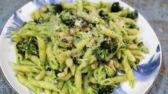 A tasty spin on your classic pesto! The Chew Recipes, Dinner Recipes, Cooking Recipes, Pasta Dishes, Food Dishes, Main Dishes, Pasta Food, Vegetarian Recipes, Healthy Recipes