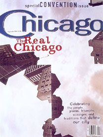 David Carson designed a Chicago magazine cover. Bet you didn't know that.
