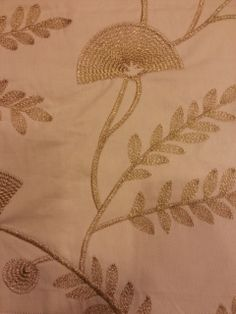 Soft Furnishing Fabric with embroidery lurex