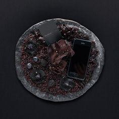 Dark Moon - Black Pizza | Studio de création