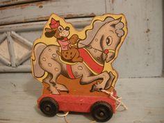 vintage  pull toy