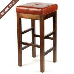 Cognac Valencia Bar Stool