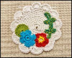 Desde o tempo da vovó...: W.I.P (Work in Progress - Trabalho em progresso) - Medalhões em crochê