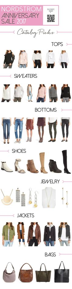 My Nordstrom Anniversary Sale Catalog picks... more in my sale prep VIDEO here http://busbeestyle.com/2017/06/30/nordstrom-anniversary-sale-2017/