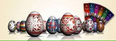 You can buy the motifs...traditional Serbian Easter Egg