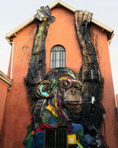 Street Art by Bordalo ll