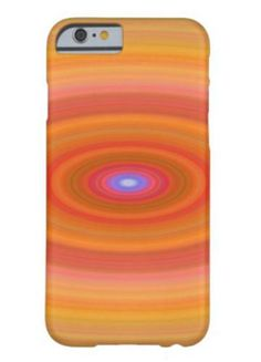 Ellipse Barely There iPhone 6 Case $44.15 *** Orange color abstract ellipse design - iPhone case