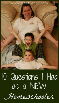 Questions and answers for new homeschooling families - Lots of links to your TOP questions
