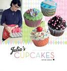 My book on cupcakes got out this week. I'm so proud! Julia's Cupcakes (danish)
