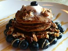 Carla Mary's Paleo Blog: Paleo Coconut Chia Lemon Vanilla Protein Pancakes