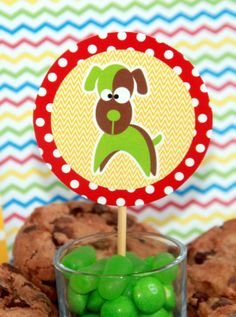Puppy Birthday Party Package - DIY Printable Set by PixieBearParty on Etsy