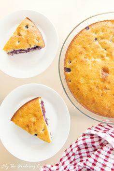Blueberry Bread Recipe