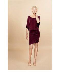 Ti-Mo - Cupro Wrapdress - Scarlet