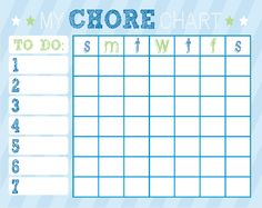 Pixingo Chore Posters you can customize for your family. So cute!
