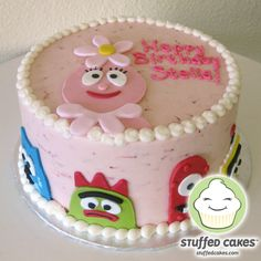Stuffed Cakes: Gaga for Gabba! Yo Gabba Gabba Cakes and Cupcake Toppers
