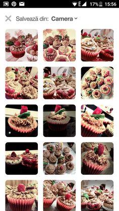 Mini nutela cupcakes