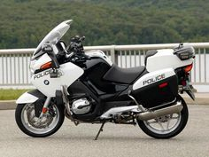 2007 BMW R1200RT Police #motorcycles