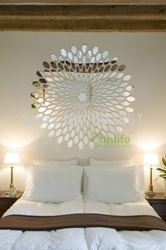 Cheap mural painting, Buy Quality mural directly from China mural wallpaper Suppliers: Funlife Reflective Decals 55x60cm Instant Garden Pom Flower Mirror-like Finish Chrome DIY Wall Stickers for Home Decor R