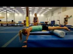 Handstand Alignment Drill - YouTube