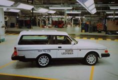 20 Years Ago - A Short History of the Volvo 240 - image of one of the last a 2 Door Estate shortened version