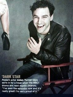 "Aidan Turner says ""I've seen the episodes now and it's really great! I'm very proud of it"" in the Radio Times."