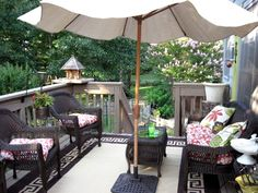 Have an open deck? 5 ways to create a cozy deck without breaking the bank!