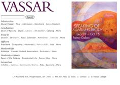 Vassar Homepage Banners | visualgui