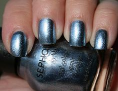 Sephora by OPI - Glimmer Wonderland Collection -Naughty is the New Nice ($9.50)  Opaque ice blue with fine silver glitter