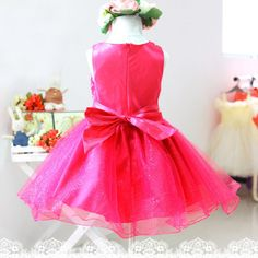 One simple word to Sale Price US $7.80 Discount 29% Summer Kids Girls Princess Dress Girls Flower Bow Wedding Party Pageant Tulle Dresses you to success #wedding_party_dress