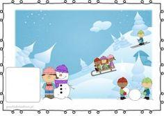 BEZPIECZNE ZABAWY NA ŚNIEGU I LODZIE – plansze zestaw 1 – Przedszkolankowo Education, Disney Princess, Disney Characters, Children, Christmas, Kids, Navidad, Weihnachten, Yule