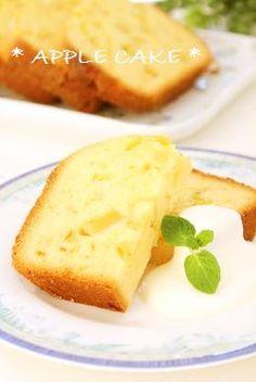 Make in a Bread Machine ♡ Apple Cake