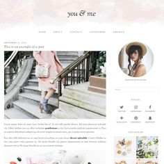 Wordpress Theme: you & me