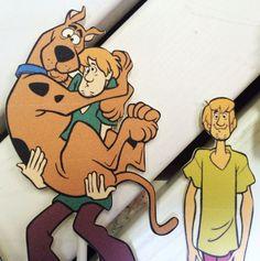 Picks Cupcake Toppers Scooby Doo cibo decorazioni di ToadHollowNJ