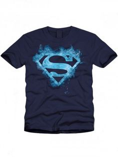 Buy T-Shirts Online | Superman Series Navy Blue T shirt | BIO-259 | cilory.com