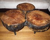 Stump Oak Coffee Table