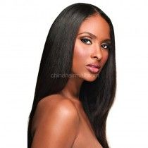 In Stock Synthetic Lace Front Wigs Straight