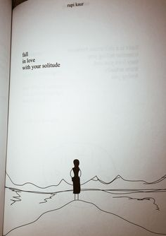 Milk & Honey Quote #solitude