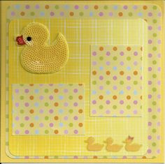 Baby Album - for baby's first bath - scrapbook baby layouts Baby Shower Scrapbook, Baby Girl Scrapbook, Baby Scrapbook Pages, Scrapbook Page Layouts, Scrapbook Cards, Scrapbooking Ideas, Baby Room Diy, Baby Album, Baby Girl Blankets