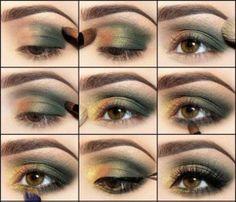 Forest Inspiration Eye Shadow eyeshadow makeup