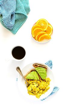 "Vegan Scrambled ""Eggs"" Made with Aquafaba 