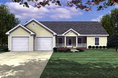 Nice Layout House Plan chp-17118 at COOLhouseplans.com