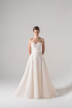 Runway trends: Anne Barge Wedding Dresses 2016