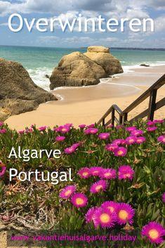Zie je tegen de komende winter op en zou je het liefst de wintermaanden willen ontvluchten, denk er dan eens over na om een tijdje naar de Algarve in Portugal te komen. Lees in het volgende blog, waarom het in Portugal zo prettig is in dit seizoen. #Portugal #Algarve #Overwinteren #SuninWinter Algarve, Portugal, Europe Travel Tips, All Over The World, Travel Inspiration, Beautiful Places, Beach, Water, Lost